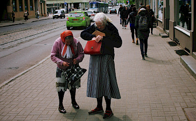 Street life in Riga, Latvia. Flickr:Vadim Timoshkin