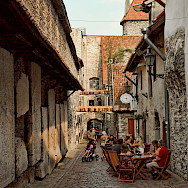 St. Catharine's Passage in Tallinn, Estonia. Photo via Wikimedia Commons:stephane martin