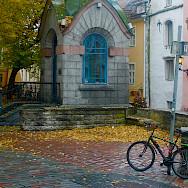 Bike rest in Tallinn, Estonia. Photo via Flickr:Les Haines