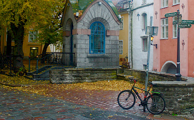 Bike rest in Tallinn, Estonia. Flickr:Les Haines