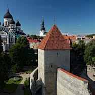 Magnificent churches in Tallinn, Estonia. Photo via Flickr:Rob Oo