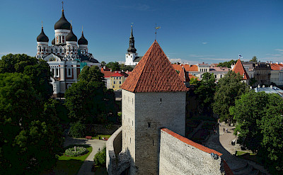 Magnificent churches in Tallinn, Estonia. Flickr:Rob Oo