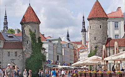 Old Town in Tallinn, Estonia. Flickr:Jean-Pierre Dalbera