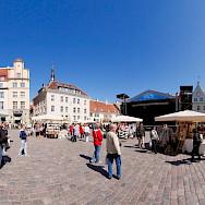 Marketplace in Tallinn, Estonia. Creative Commons:Holger Vaga