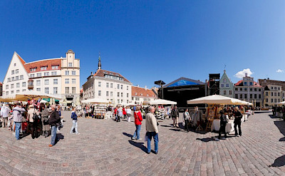 Marketplace in Tallinn, Estonia. CC:Holger Vaga