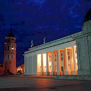 Bike Tour starts in Vilnius. Lithuania. Photo via Flickr:F Mira