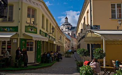 Vilnius is the capital of Lithuania. Flickr:Phillip Capper