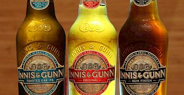 Innis & Gunn local Scottish beer. Flickr:Rory