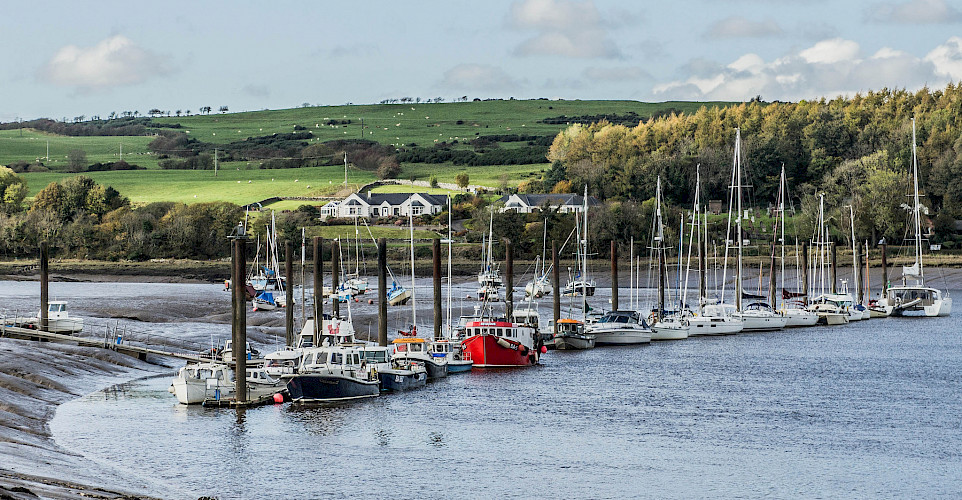 Harbour in Kirkcudbright, Scotland. Flickr:greig williams