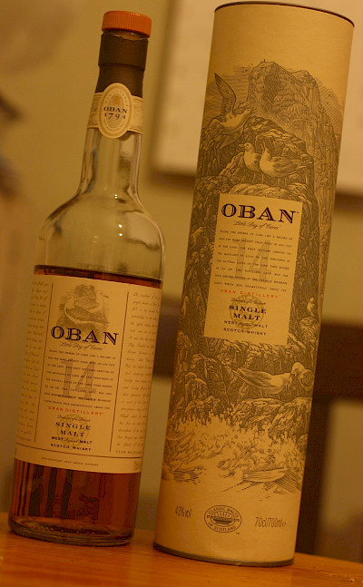 Oban is a famous Scottish Scotch, of course. Flickr:Matthew Black