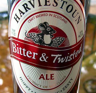 Harviestoun, a loca Scottish beer. Flickr:walknboston