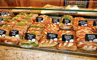 French baguettes in Alsace, France. Flickr:Russ Bowling