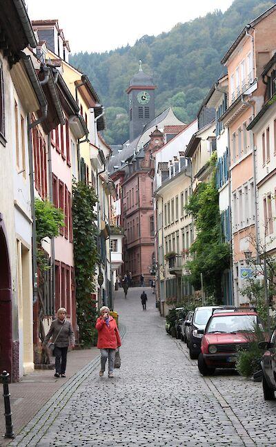 Sightseeing in Heidelberg, Germany. ©TO