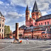 Mainz a Estrasburgo o Estrasburgo a Mainz Foto