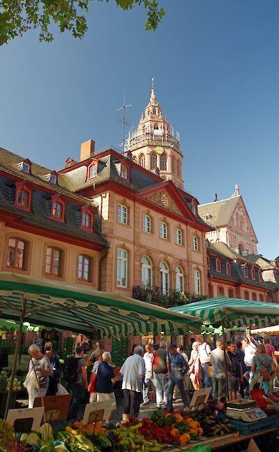 Market in Mainz. ©TO