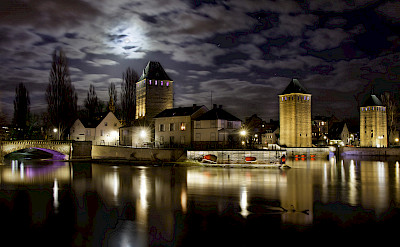 Moonlite Strasbourg in Alsace, France. Photo via Flickr:Carlos Andres Reyes