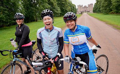 Group shot on the Scotland Bike Tour. Photo via TO