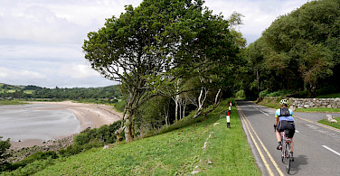Quiet bike paths in Castle Douglas, Dumfries and Galloway, Scotland. Photo via TO