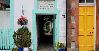 Some history in Kirkcudbright, Dumfries and Galloway, Scotland. Photo via TO