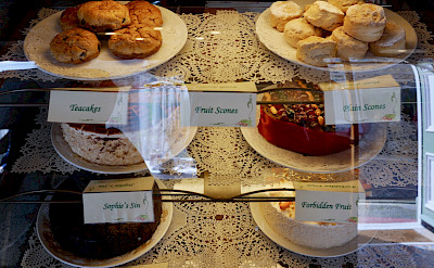 Time for tea and scones in Castle Douglas in Dumfries and Galloway, Scotland. Photo via TO