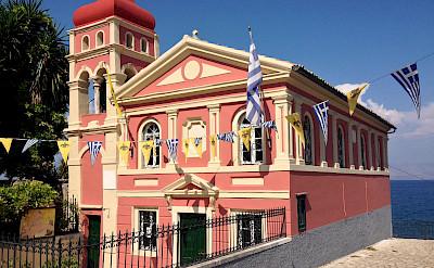 Panagia Mandrakina Church in Corfu, Greece. Flickr:Dimitris Kamaras