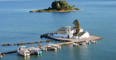 Panagia Vlachernon Monastery in Corfu, Greece. Photo via Flickr:Dimitris Kamaras