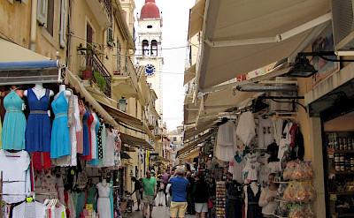 Shopping in Corfu, Ionian Island, Greece. Flickr:Luc Coekaerts