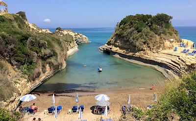 Beach in Corfu in the Ionian Sea, Greece. Flickr:Andrea Rosatto
