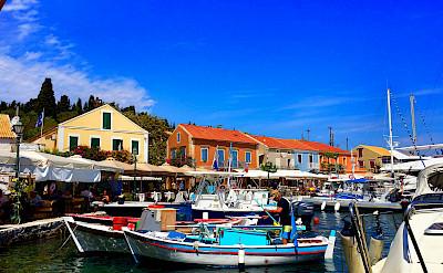Harbor in Fiskardo, Kefalonia Island in Greece. Flickr:Marcus Ward
