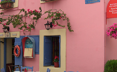 Restaurant in Fiskardo on Cephalonia (also Kefalonia) Island in Greece. Flickr:Spiros Vathis