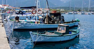 Harbor in Kefalonia Island, Greece. Photo via Flickr:evoflash