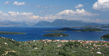 Lefkada Island in the Ionian Sea, Greece. Photo via Wikimedia Commons:Alf van Beem