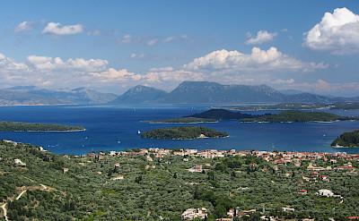 Lefkada Island in the Ionian Sea, Greece. CC:Alf van Beem