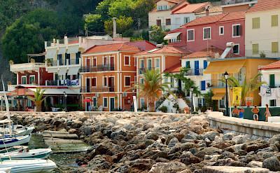 Parga, a seaside resort on the Ionian coast in Greece. CC:Jaroslav Kuba
