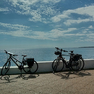 Bikes and the sea