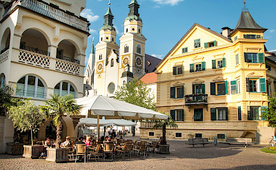 Cathedral of Brixen in Brixen (Italian: Bressanone) in South Tyrol, Italy. ©Photo via TO