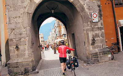 Entering Bressanone (Brixen) in South Tyrol, Italy. ©Photo via TO