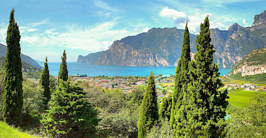Riva del Garda on Lake Garda, province Trento, region Trentino Alto Adige, Italy. Photo via Flickr:amira_a