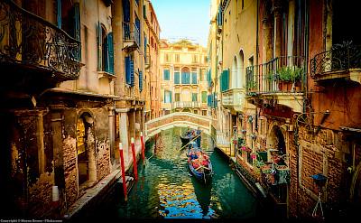 Gondola ride in Venice, Veneto, Italy. Flickr:Moyan Brenn