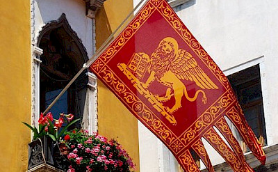 Flag of Venice, Veneto, Italy. Flickr:svetico