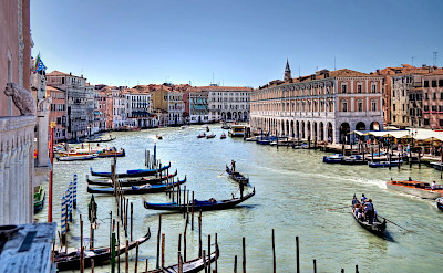 Grand Canal in Venice, Italy. Flickr:gnuckx