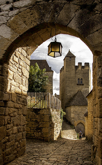 In the chateau in Beynac, France. Photo via Flickr:@lain G