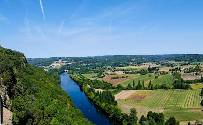 View from Chateau de Castelnaud, Dordogne, France. Photo via Flickr:Mike Locke