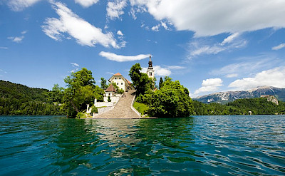 Bled Island in Slovenia. Flickr:Remi Zolya