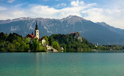 Lake Bled in Slovenia. Flickr:Jorge Franganillo