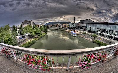 Drau River in Villach, Austria. Flickr:Bernhard Latzko