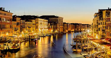 Grand Canal in Venice, Italy. Photo via Flickr:Pedro Szekely