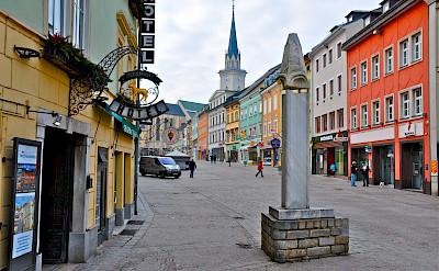 Innestadt in Villach in Carinthia, Austria. CC:Johann Jaritz