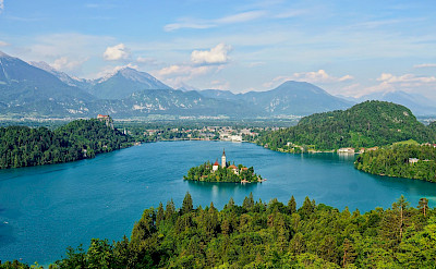 Lake Bled in Slovenia. Flickr:Hotice Hsu