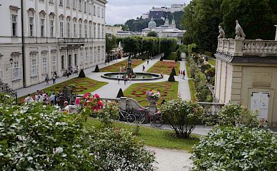 Mirabell Gardens of Salzburg, Austria. Photo via Flickr:Karlis Dambrans